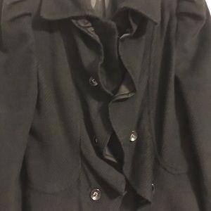 Gianfranco Rossi Jackets & Coats - Black Retro Jacket